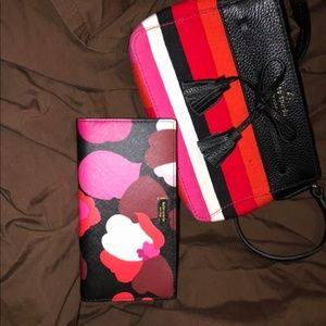 Kate spade crossbody bag with wallet